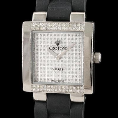 Croton Crystal Wristwatch