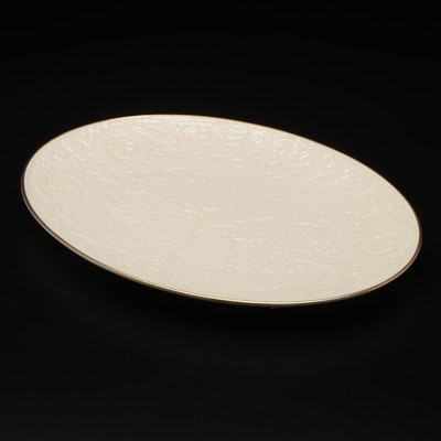 Lenox Bone China Oval Serving Platter