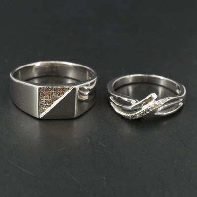 Sterling Diamond Band and Sterling Diamond Crossover Band