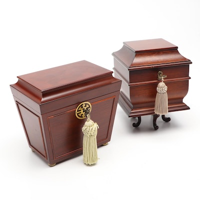 Bombay Company Wooden Jewelry Boxes