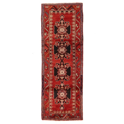 3'7 x 10'1 Hand-Knotted Northwest Persian Long Rug