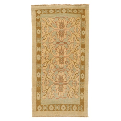 3'4 x 6'7 Hand-Knotted Turkish Donegal Area Rug