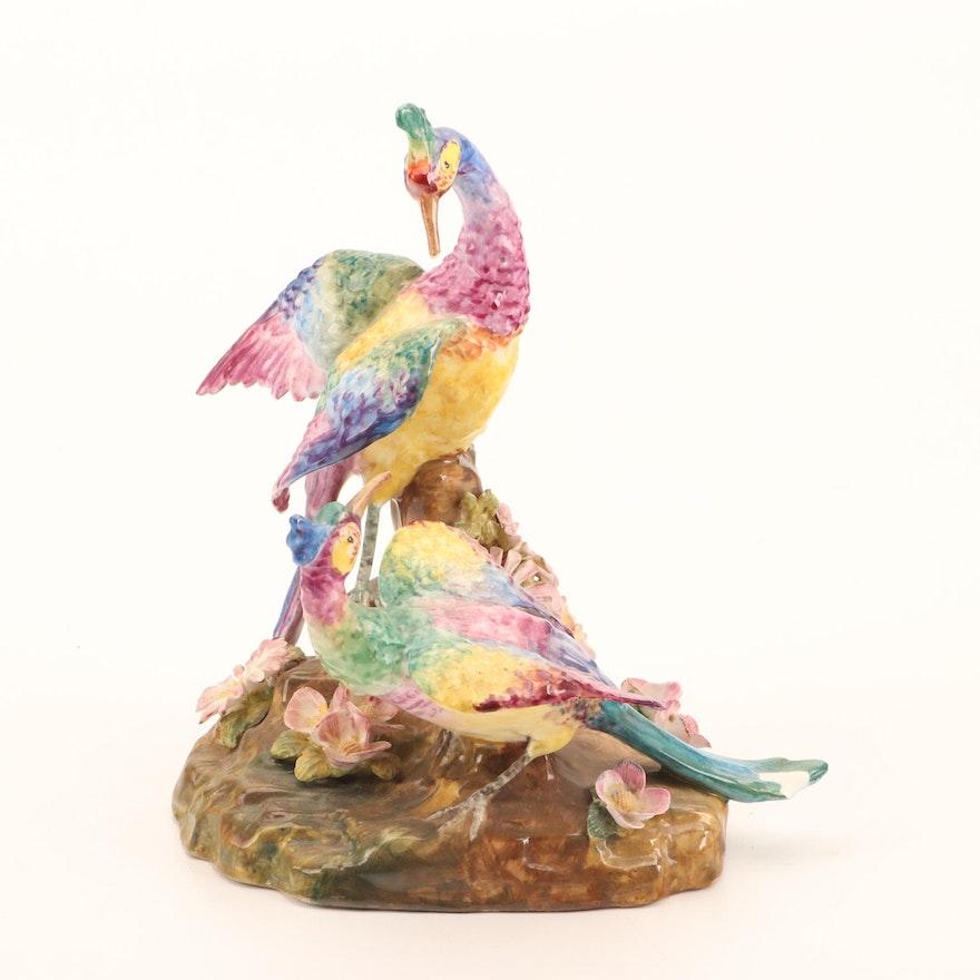 Crown Staffordshire Bone China Bird Figurine, Late 20th Century