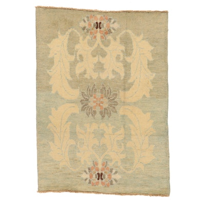 4'4 x 6' Hand-Knotted Turkish Donegal Area Rug