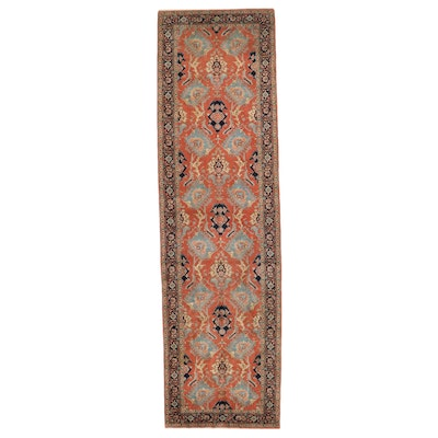 5' x 18' Hand-Knotted Persian Ferahan Long Rug