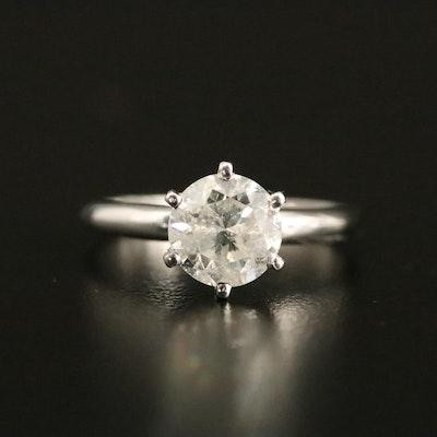 14K 1.68 CT Diamond Solitaire Ring