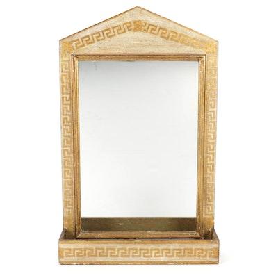 Florentia Giltwood Wall Pocket Mirror, Mid-20th Century