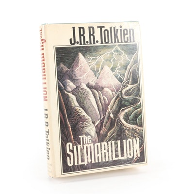 """First American Printing """"The Silmarillion"""" by J. R. R. Tolkien, 1977"""