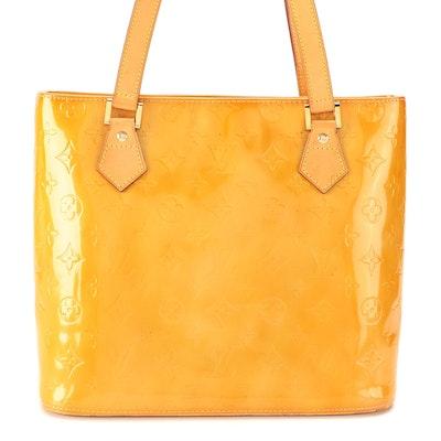 Louis Vuitton Houston Bag in Monogram Vernis