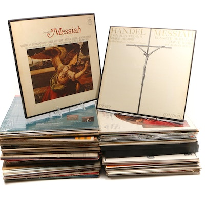 Classical, Christmas and Other Genres Vinyl Records