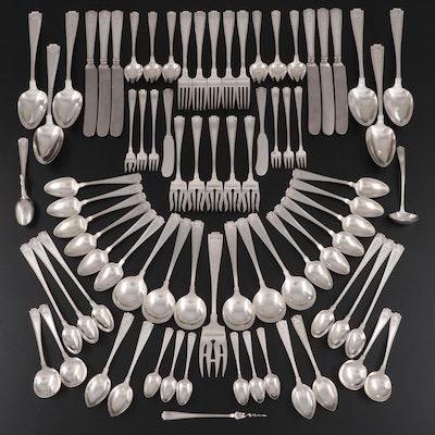 "Gorham ""Etruscan"" Sterling Silver Flatware Set"
