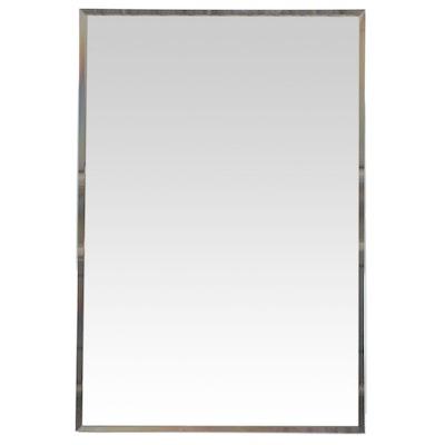 "24"" Rectangular Mirror with Beveled Edges"