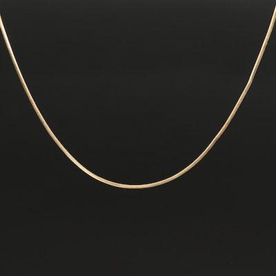 Italian 14K Gold Chain Necklace
