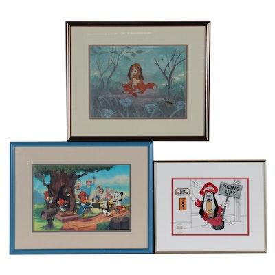 Walt Disney, Walter Lantz, & Turner Home Entertainment Sericel & Animation Cels