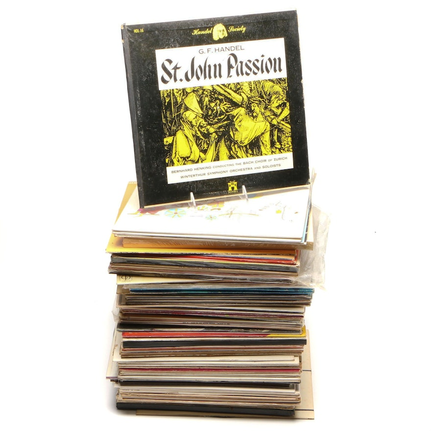 Large Classical Records Collection