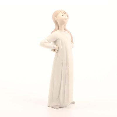 """Lladró """"Girl"""" Porcelain Figurine"""