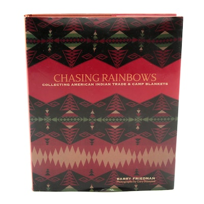 """Signed First Edition """"Chasing Rainbows"""" by Barry Friedman, 2002"""