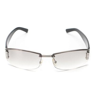 Gucci GG1799/S Rimless Sunglasses with Case