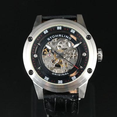 Stührling Zolara 360 Stainless Steel Automatic Wristwatch