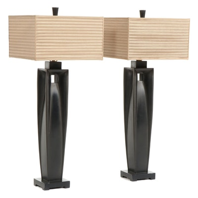Fine Art Lamps Contemporary Ceramic Tall Table Lamps