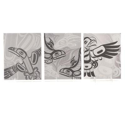 Native Elements Digital Prints After Ernest Swanson