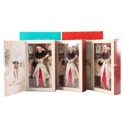Holiday Memories Barbies, Including Holiday Jewel Barbie