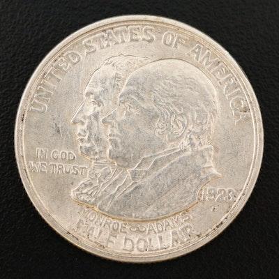 1923 Monroe Doctrine Centennial Commemorative Silver Half Dollar