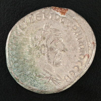 Ancient Roman Provincial Tetradrachm Coin of Trajan Decius, ca. 249 A.D.