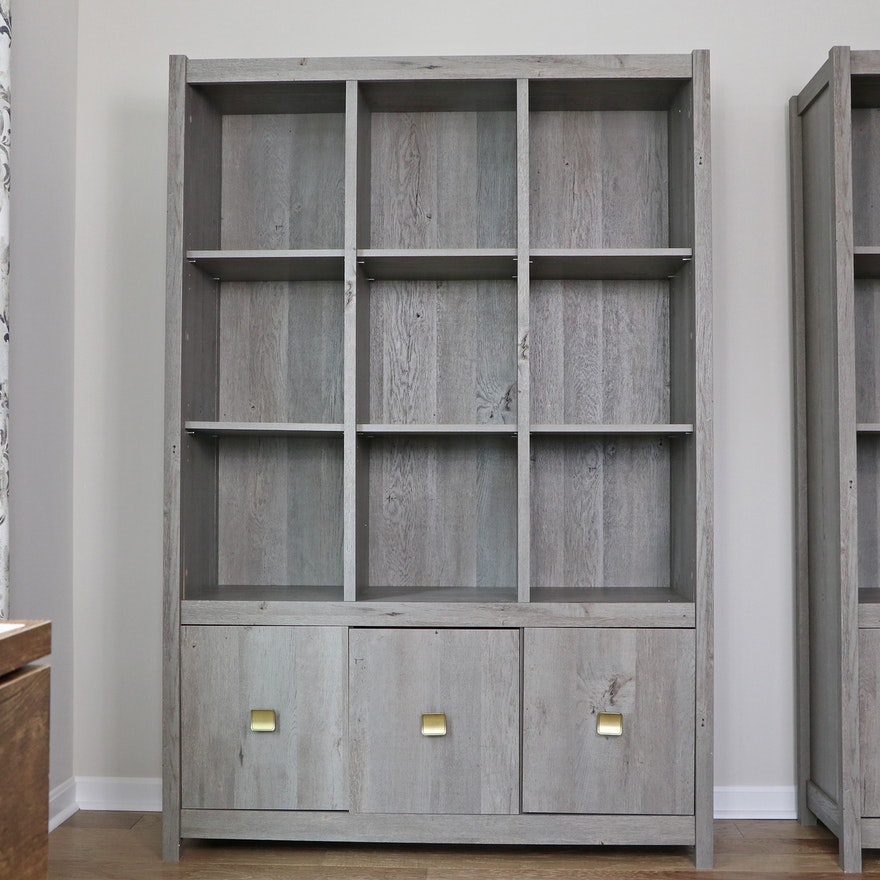 "Mistana ""Strauss"" Bookcase with Cabinet Storage"