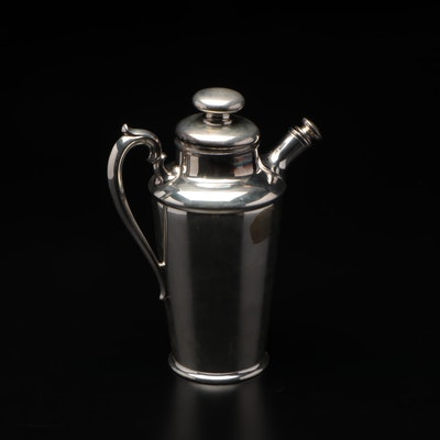 Meriden Silver Plate Co. Cocktail Shaker, Early to Mid 20th Century