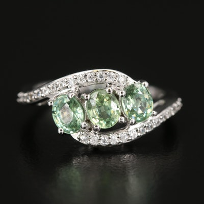 9K Zircon Ring