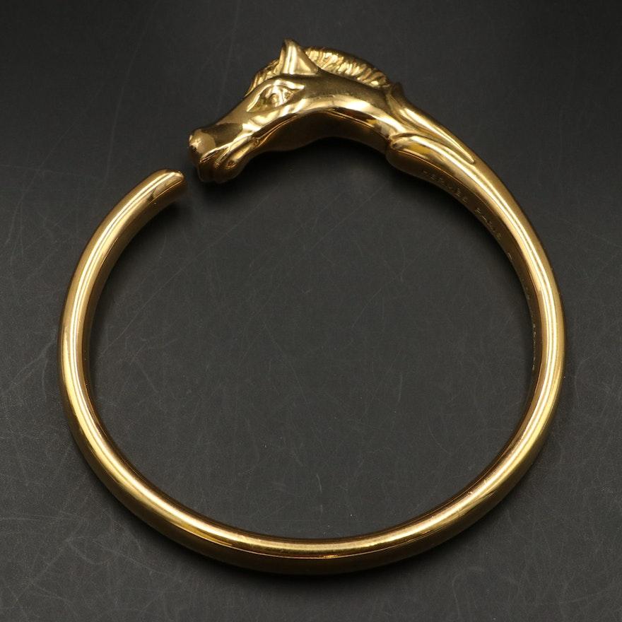 Hermès Horse Head Bangle