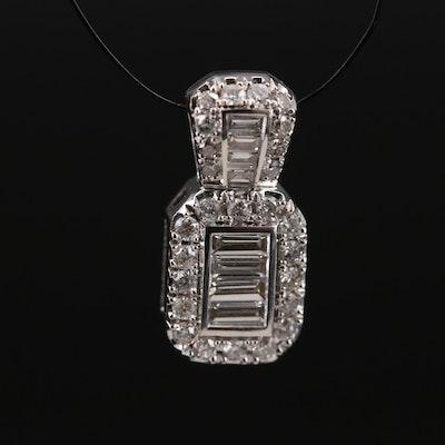 EFFY 14K Diamond Pendant