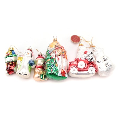 Christopher Radko and Other Blown Glass Christmas Ornaments