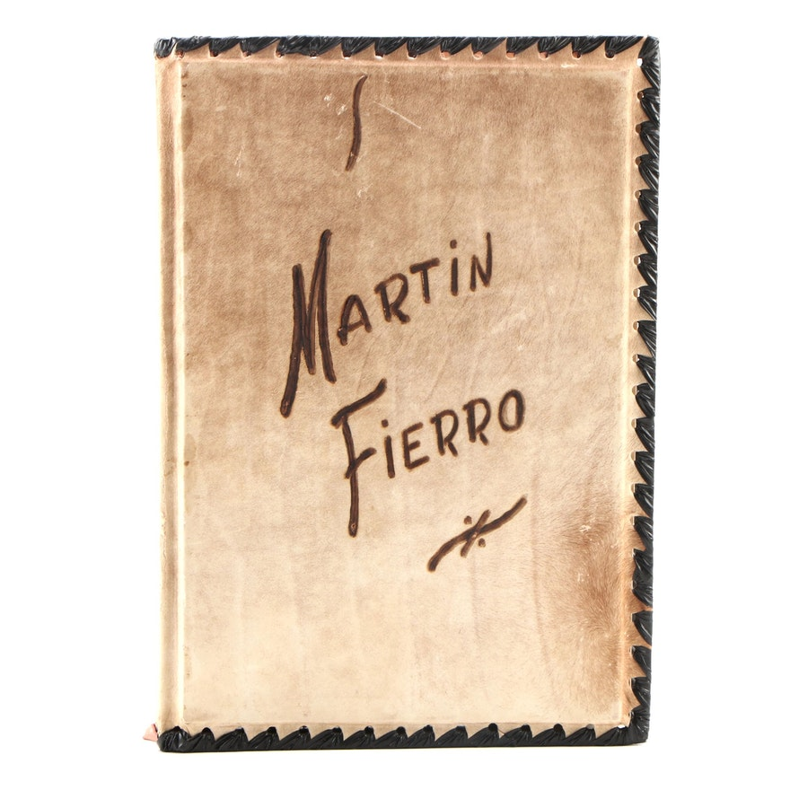 "Illustrated ""The Gaucho Martín Fierro"" by José Hernández, 1960"