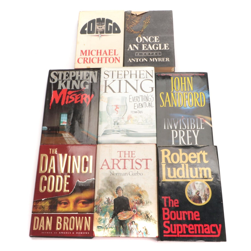 """First Trade Edition """"The Bourne Supremacy"""" by Robert Ludlum and More Books"""