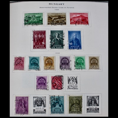 Hungary Postage Stamp Collection