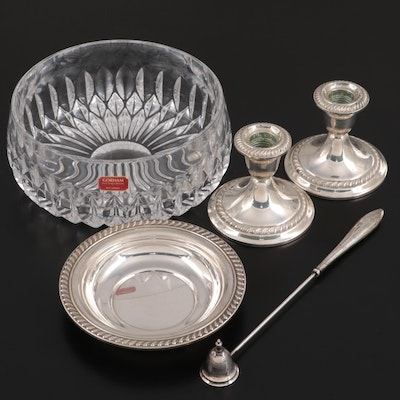 Gorham, S. Kirk & Son and Newport Sterling Silver Tableware with Gorham Bowl