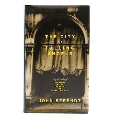 """Signed First Edition """"The City of Falling Angels"""" by John Berendt, 2005"""