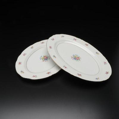 Johann Haviland Porcelain Serving Platters