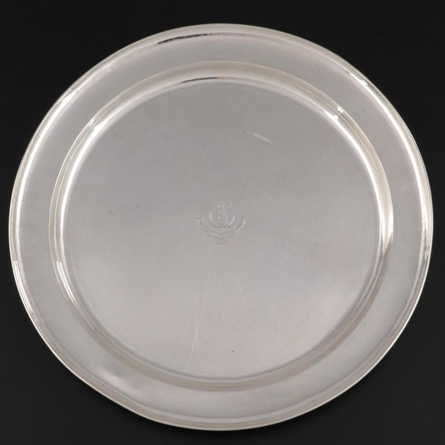 The Kalo Shop 24 oz Sterling Silver Hand Wrought Tray