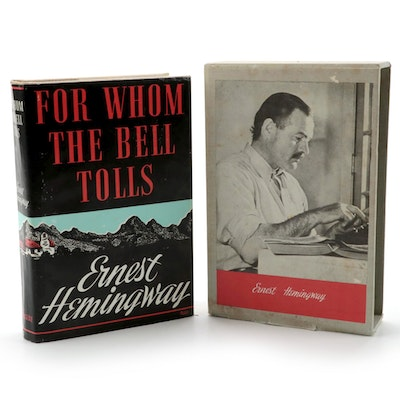 """Facsimile Edition """"For Whom the Bell Tolls"""" by Ernest Hemingway, 1968"""