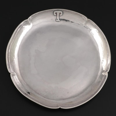 Arts and Crafts Sterling Silver Tray, Mid to Late 20th Century