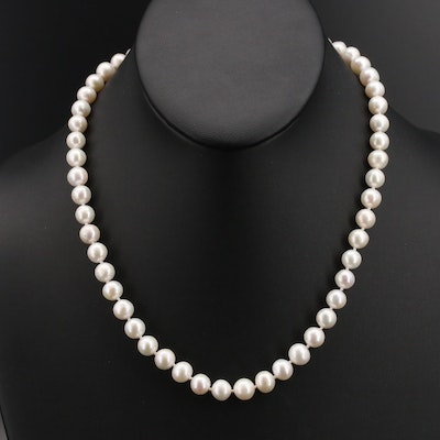 18K Pearl Necklace