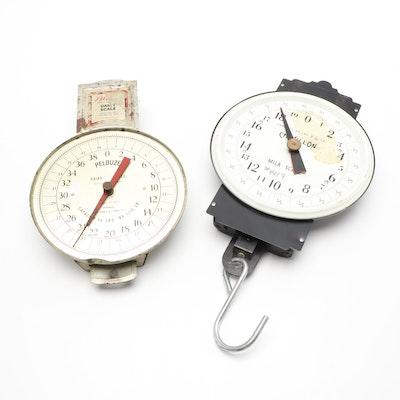 Chatillon and Pelouze Vintage Scales