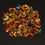 Loose 23.27 CTW Oval Faceted Sapphire