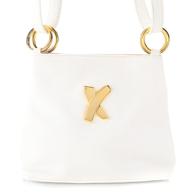 Paloma Picasso Shoulder Bag in White Leather