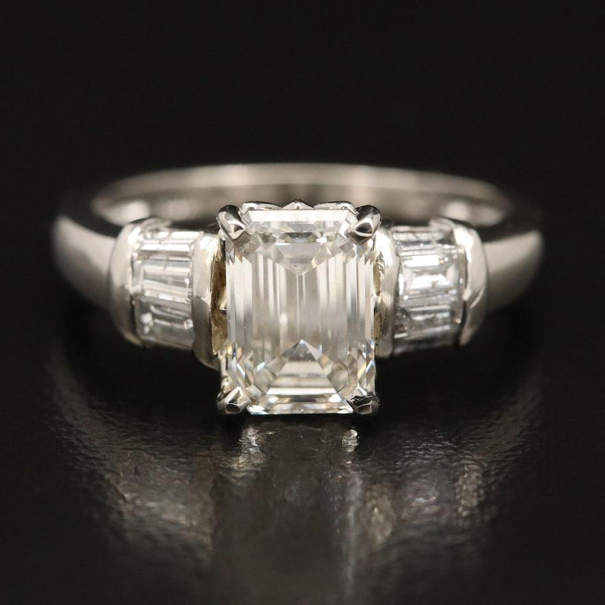 Platinum 2.49 CTW Diamond Ring