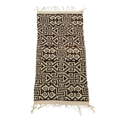 2'9 x 6'8 Handwoven Southwestern Style Long Rug