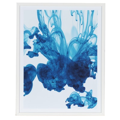 Abstract Giclée of Fluid Forms After Lewis Mulatero, 21st Century